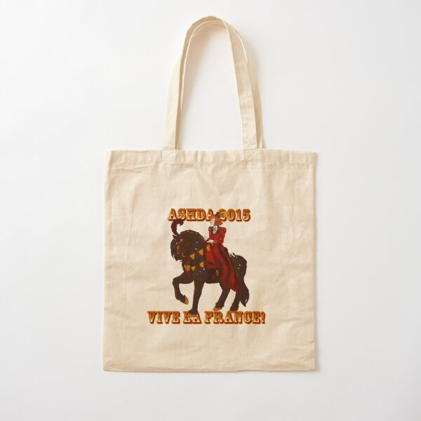Limited Edition Vive la France Design v2 Cotton Tote Bag