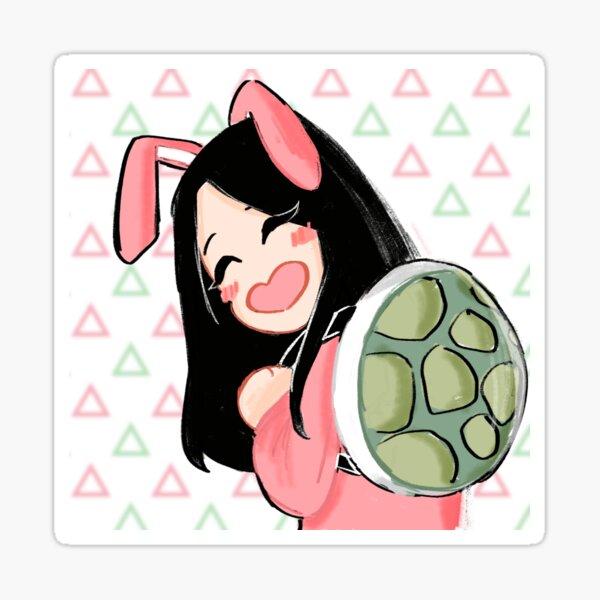 Jisoo Turtle-Rabbit Kim Pegatina