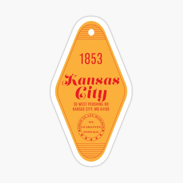 Motel Keychain KC Sticker
