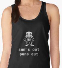 Sans - Sun's out Puns out Women's Tank Top