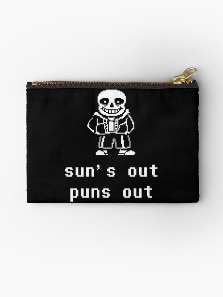 Sans - Sun's out Puns out by sylnae