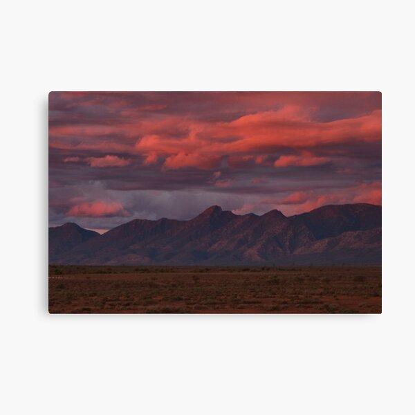 Sunset, Flinders Ranges, Outback South Australia, Australia Canvas Print