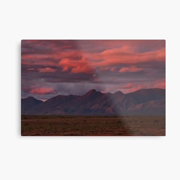 Sunset, Flinders Ranges, Outback South Australia, Australia Metal Print