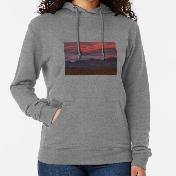 Sunset, Flinders Ranges, Outback South Australia, Australia Lightweight Hoodie