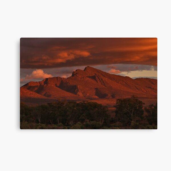 Sunset, Flinders Ranges, Outback South Australia, Australia 2 Canvas Print