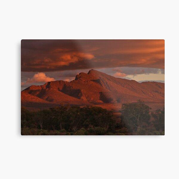 Sunset, Flinders Ranges, Outback South Australia, Australia 2 Metal Print
