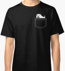 Undertale Dog Pocket Tee Classic T-Shirt