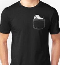 Undertale Dog Pocket Tee Slim Fit T-Shirt