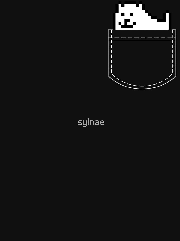 Undertale Dog Pocket Tee by sylnae