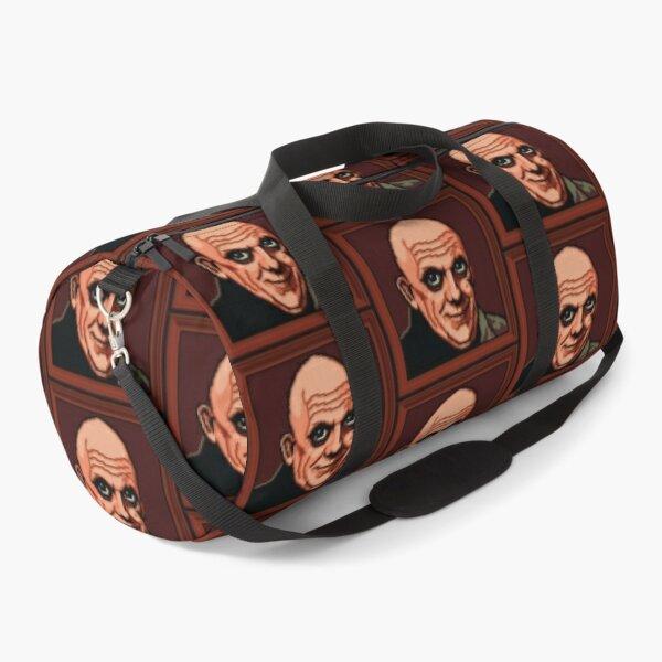 Uncle Fester Portrait Pixel Art Duffle Bag