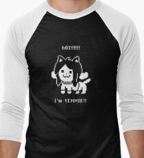 Undertale Temmie Men's Baseball ¾ T-Shirt