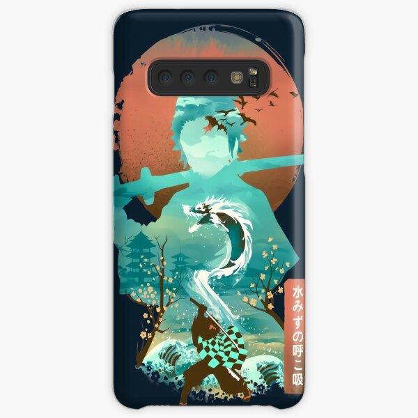 Water Dragon Rising Sun Samsung Galaxy Snap Case