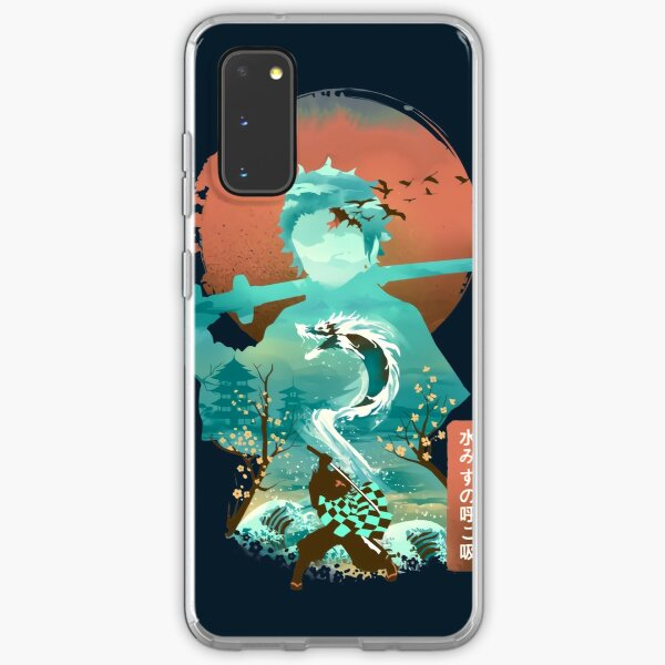 Water Dragon Rising Sun Samsung Galaxy Soft Case