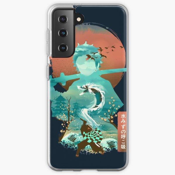 Water Dragon Rising Sun Samsung Galaxy Soft Case