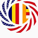 Buddhist Murican Patriot Flag Series by Carbon-Fibre Media