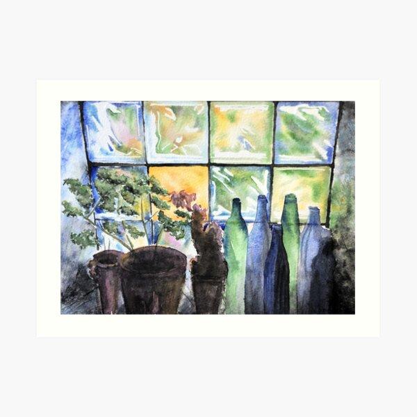 Colourful light - original photo by Eva Marlza Art Print