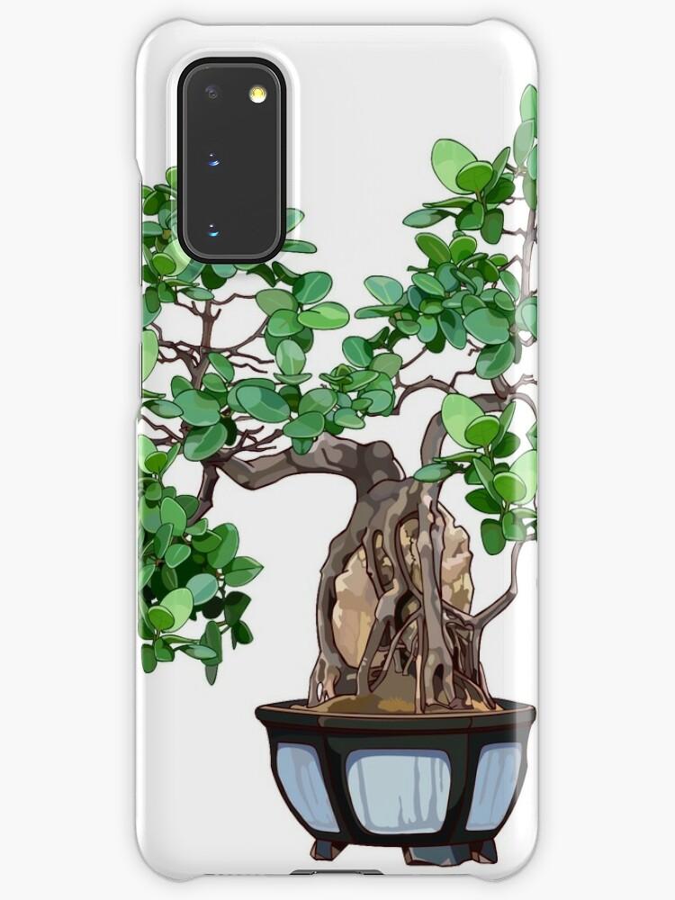 Bonsai Tree Case Skin For Samsung Galaxy By Smaragdas Redbubble