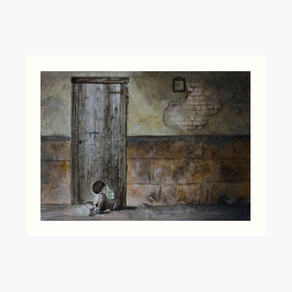 Alone - original photo by Naomi Frost Art Print