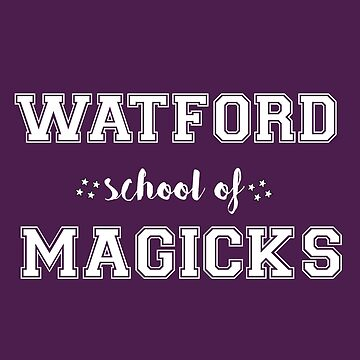 Watford School Of Magicks by buttermybooks