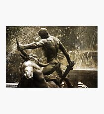 Theseus Slaying a Minotaur Photographic Print