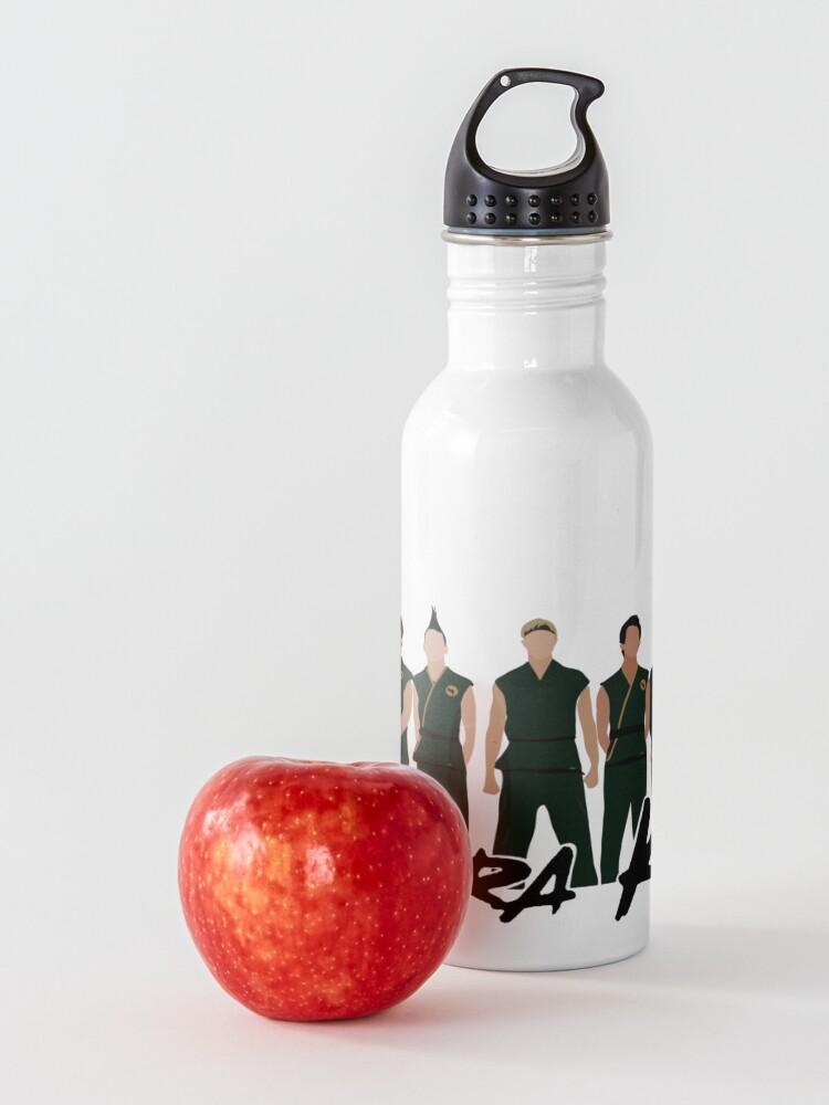 Alternate view of cobra kai netflix Water Bottle