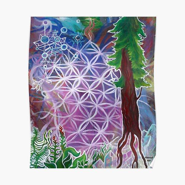 Cosmic Tree Poster
