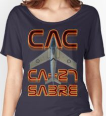 CAC Ca-27 Sabre  Women's Relaxed Fit T-Shirt