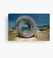 Spiral 2 @ Sculptures By The Sea, 2011 Canvas Print