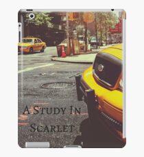 Sherlock Holmes- A Study In Scarlet iPad Case/Skin