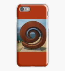 Spiral @ Sculptures By The Sea, 2011 iPhone Case/Skin