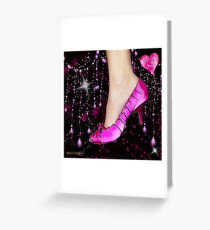 I Love My Pink Shoes!! (Views: 16062 - Features: 22) Greeting Card