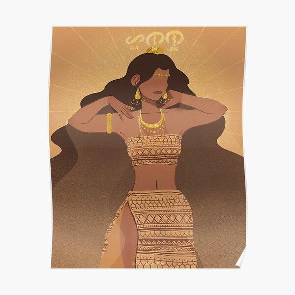 Hanan | Goddess of the Morning Poster
