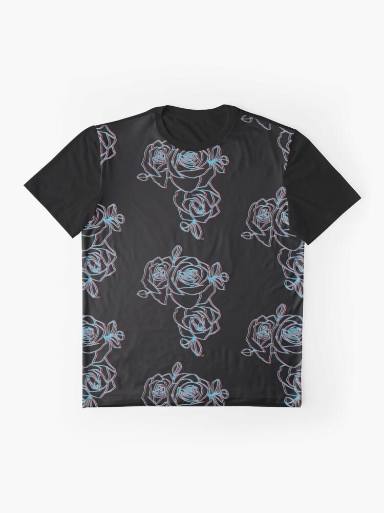 Alternative Ansicht von Halsey Roses Grafik T-Shirt
