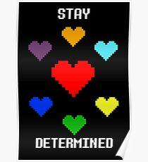 Entschlossen bleiben! Poster