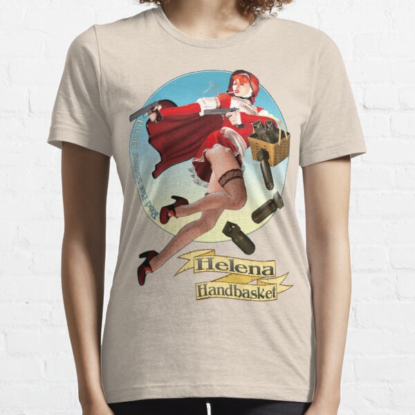 Helena Handbasket - Red Hot Riding Hood Essential T-Shirt