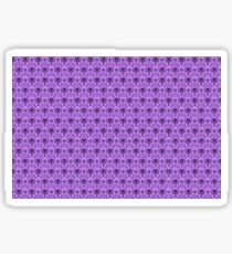 The Haunted Mansion Wallpaper - Light Purple  Sticker