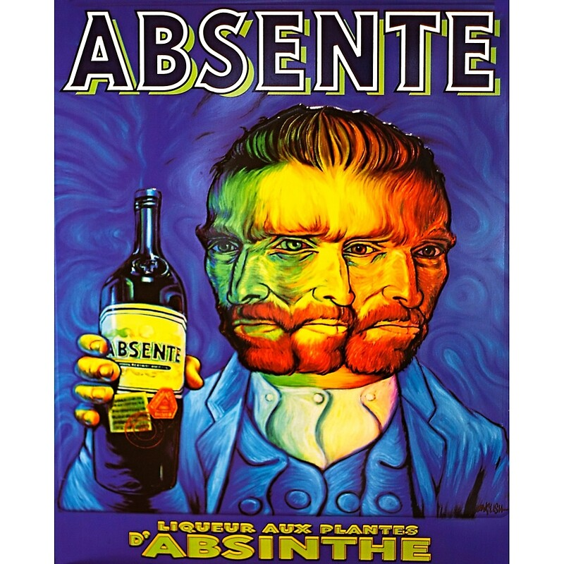 Van Gogh Absinthe Poster\