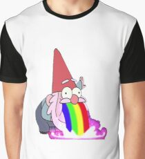 Gravity Falls- Barfing Gnome Graphic T-Shirt