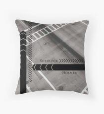 Sherlock- Mind Palace Directions Throw Pillow