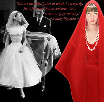 Audrey & Givenchy by Dulcina
