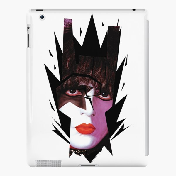 Kiss Starchild In Rock Gesture Horns Sign Graphic iPad Snap Case