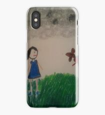 oil pastel drawing iPhone Case/Skin