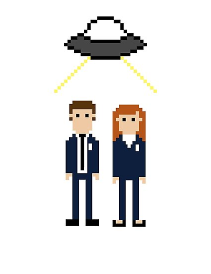 Mulder and Scully by EvelynGonzalez