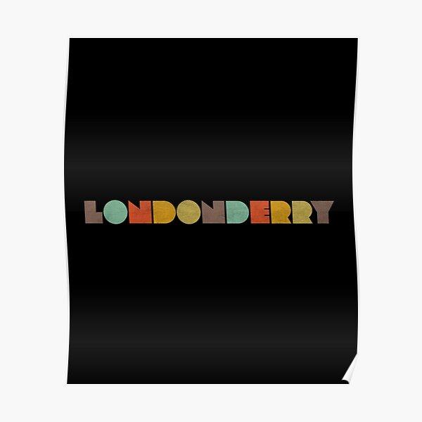 Londonderry Vintage Poster