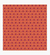 The Haunted Mansion Wallpaper - Orange/Red Photographic Print
