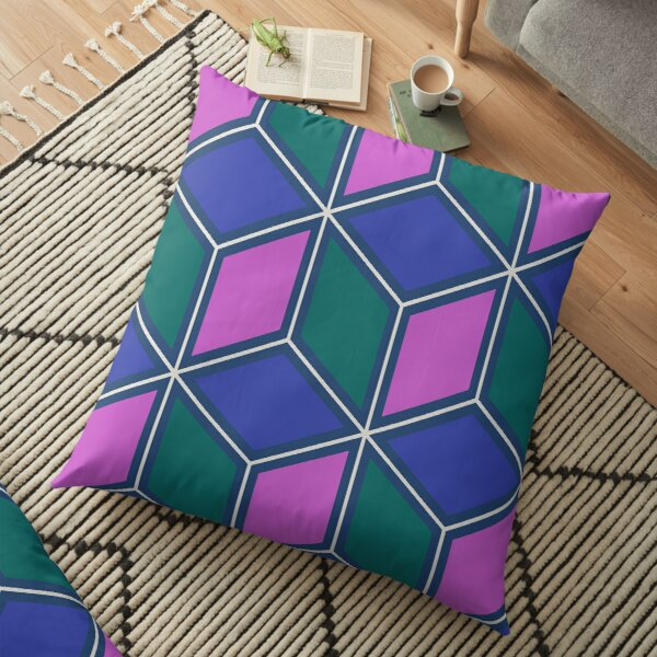 Abstract Geometric Pattern Design 22 Floor Pillow
