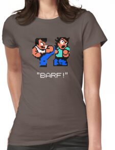 River City Ransom Barf Womens Fitted T-Shirt