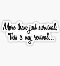 Selena Gomez- Revival Lyrics Overlay  Sticker