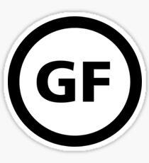 Gluten Free Symbol Sticker