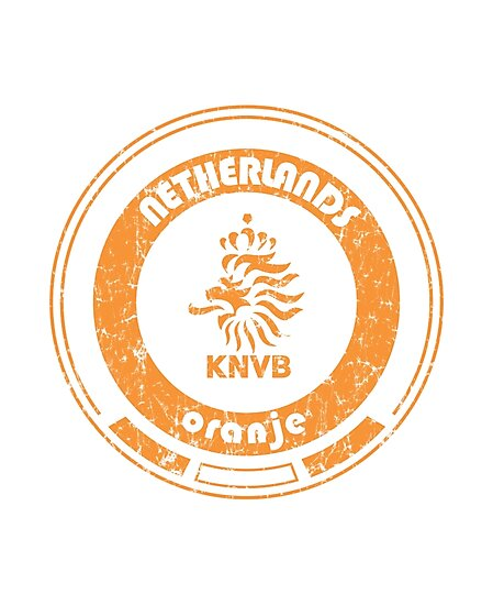 World Cup Football - Team Netherlands (distressed) by madeofthoughts